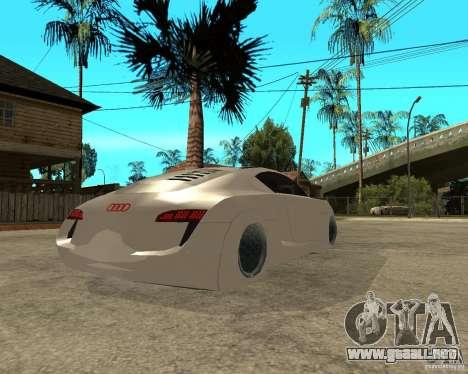AUDI RSQ concept 2035 para GTA San Andreas vista posterior izquierda