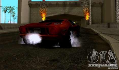 ENBseries by HunterBoobs v1.1 para GTA San Andreas sucesivamente de pantalla