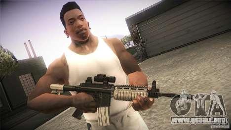 Weapon Pack by GVC Team para GTA San Andreas segunda pantalla