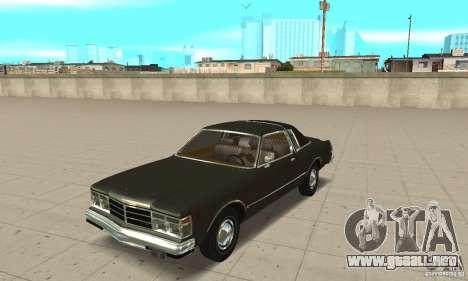 Chrysler Le Baron 1978 para GTA San Andreas