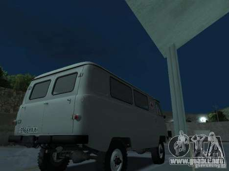 UAZ 451A para la visión correcta GTA San Andreas