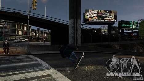 Tabla # 3 para GTA 4 vista hacia atrás