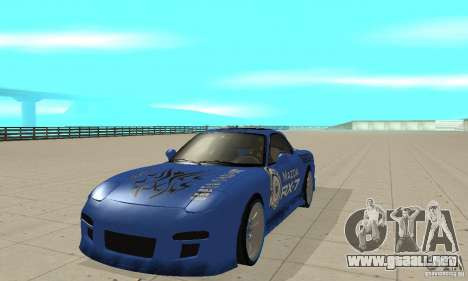 Mazda RX-7 Pickup para GTA San Andreas left