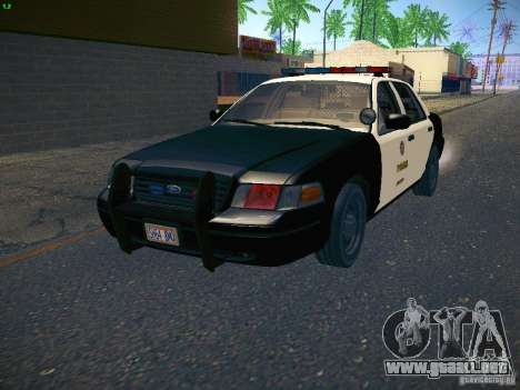 Ford Crown Victoria Police Intercopter para GTA San Andreas