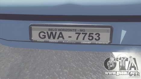 Fiat Brava HGT para la visión correcta GTA San Andreas