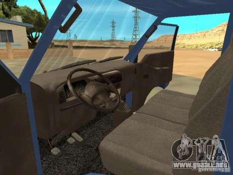 Hyundai Porter para la visión correcta GTA San Andreas