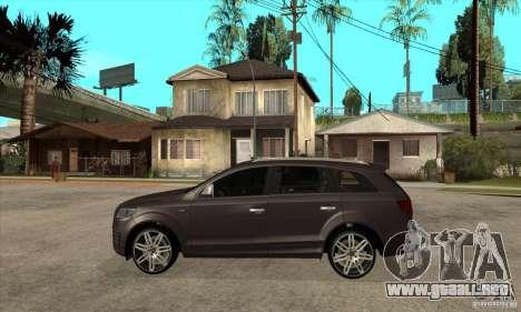 AUDI Q7 V12 V2 para GTA San Andreas left