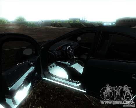 Dodge Neon para la visión correcta GTA San Andreas