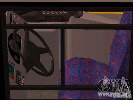 Volvo B7L para vista lateral GTA San Andreas