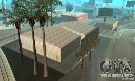Basketball Court v6.0 para GTA San Andreas quinta pantalla