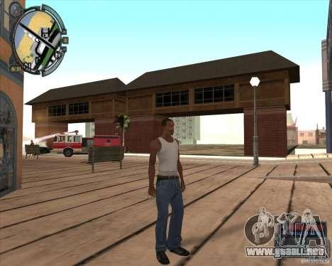 S.T.A.L.K.E.R. Call of Pripyat HUD for SA v1.0 para GTA San Andreas octavo de pantalla