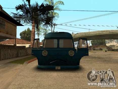 Hotdog civil Van para la visión correcta GTA San Andreas