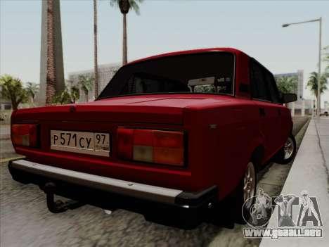 VAZ 21054 para GTA San Andreas left