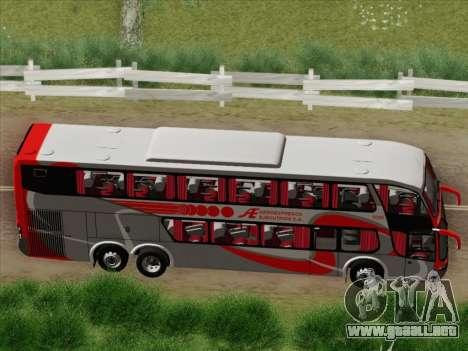 Marcopolo DD800 Volvo B12R para visión interna GTA San Andreas