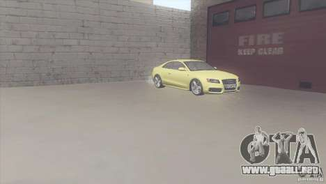 Audi S5 para visión interna GTA San Andreas