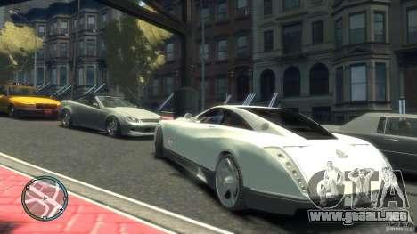 Maybach Exelero para GTA 4 visión correcta