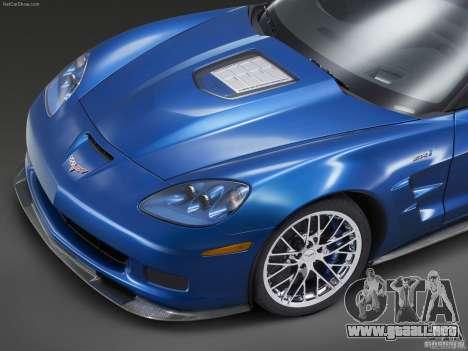 Pantallas de carga Chevrolet Corvette para GTA San Andreas sexta pantalla