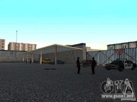Realista conducción escuela v1.0 para GTA San Andreas tercera pantalla