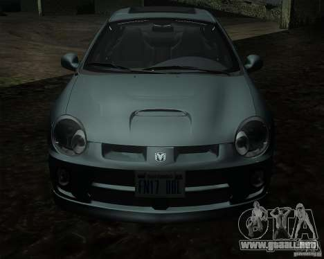Dodge Neon para GTA San Andreas left