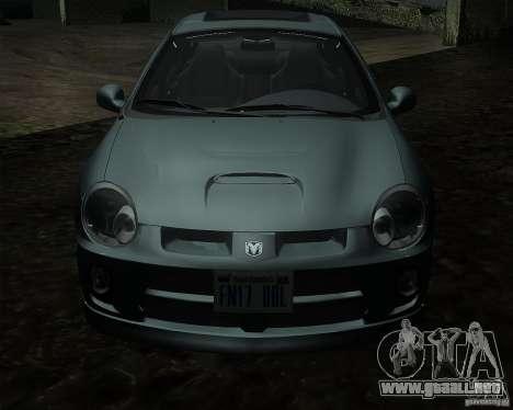 Dodge Neon para GTA San Andreas left