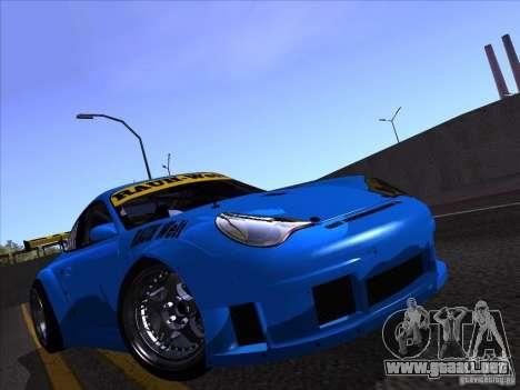 Porsche 911 GT3  RWB para la visión correcta GTA San Andreas