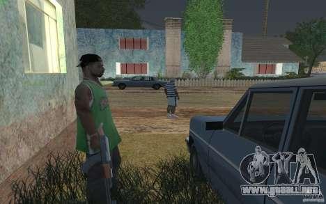 La casa verde para GTA San Andreas sucesivamente de pantalla