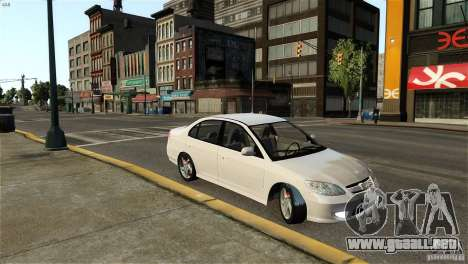 Honda Civic V-Tec para GTA 4 left