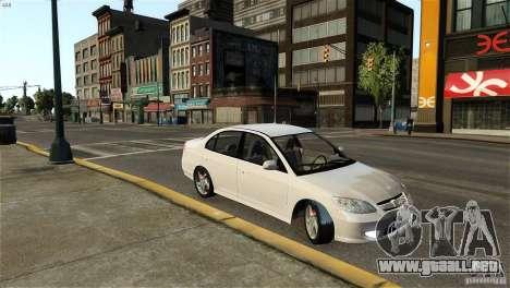 Honda Civic V-Tec para GTA 4 left