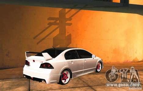 Honda Civic JDM para GTA San Andreas left