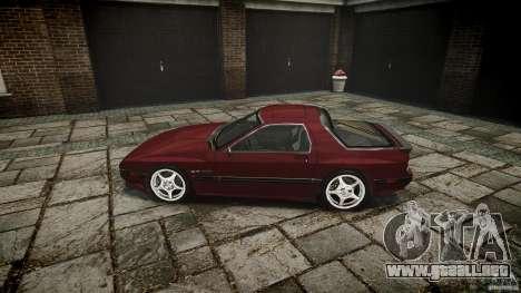 Mazda RX7 FC3S para GTA 4 left
