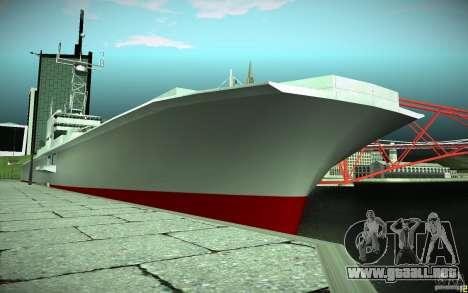 Portaaviones V2 Final para GTA San Andreas
