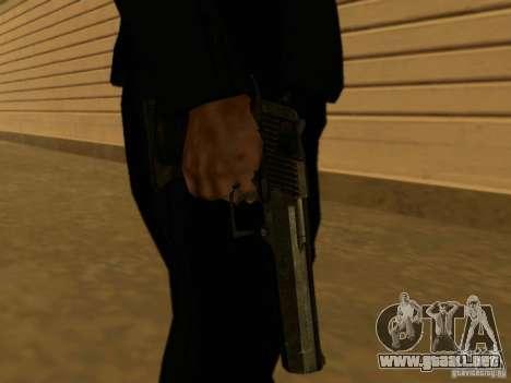Desert Eagle MW3 para GTA San Andreas tercera pantalla