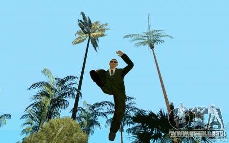 Black MIB para GTA San Andreas tercera pantalla