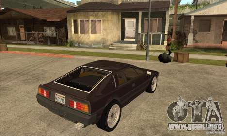 Lotus Esprit S3 para la visión correcta GTA San Andreas