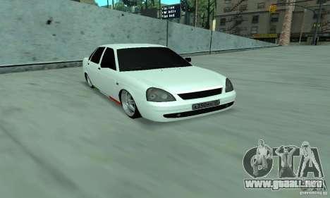 Lada Priora Italia para GTA San Andreas left
