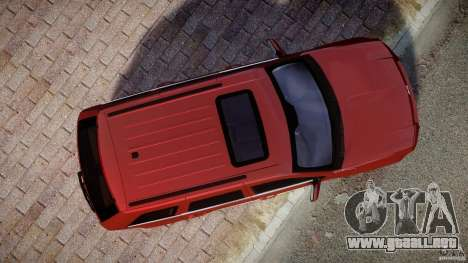 Jeep Grand Cherokee para GTA 4 visión correcta