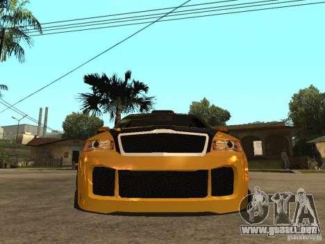 Skoda Octavia II Tuning para la visión correcta GTA San Andreas