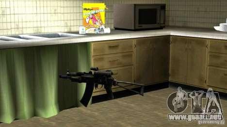 Pak domésticos armas versión 6 para GTA San Andreas