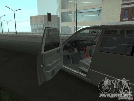 Mercedes-Benz 250D para visión interna GTA San Andreas