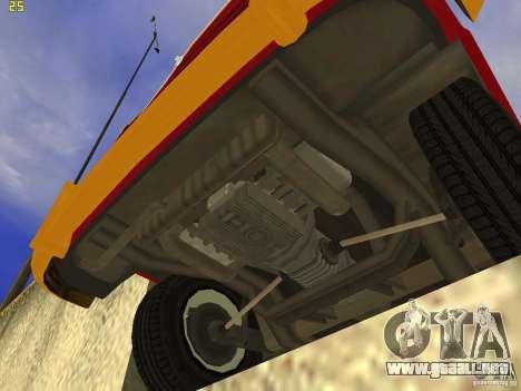 Volkswagen Transporter T1 Camper para la visión correcta GTA San Andreas