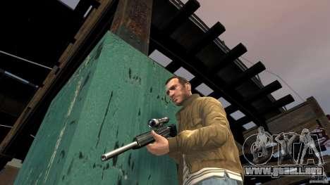 PSG1 (Heckler & Koch) para GTA 4 adelante de pantalla