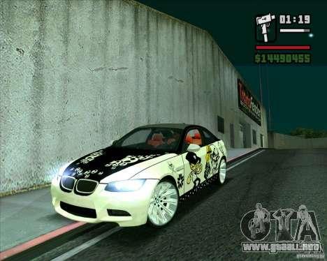 BMW M3 (E92) 2007 para GTA San Andreas