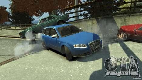 Audi S4 Avant para GTA motor 4