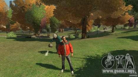Hermosa vegetación para GTA 4 segundos de pantalla