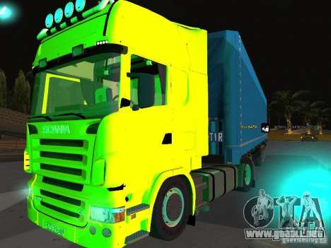 Scania R620 para la visión correcta GTA San Andreas