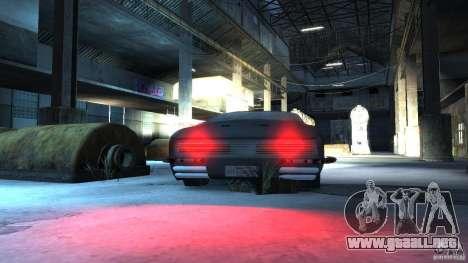 Apocalyptic Mustang Concept (Beta) para GTA 4 vista hacia atrás