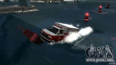 Ambulance boat para GTA 4