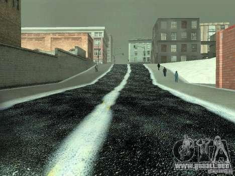 Nieve v 2.0 para GTA San Andreas undécima de pantalla