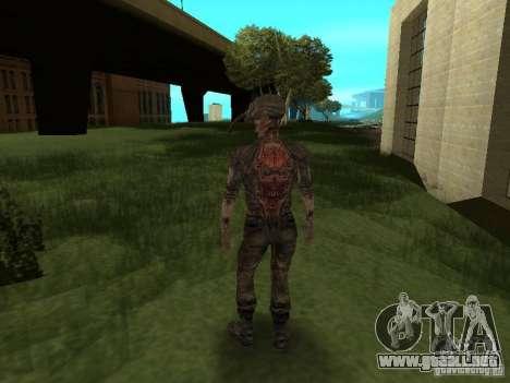 Snork de S.T.A.L.K.E. r para GTA San Andreas quinta pantalla