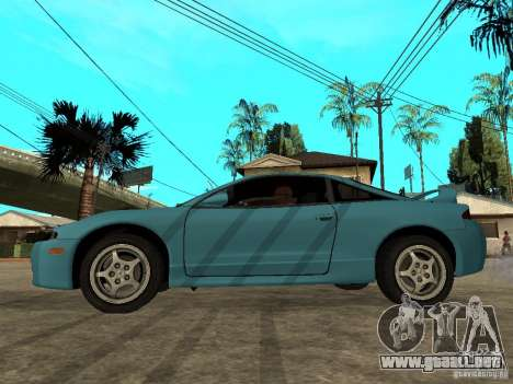 Mitsubishi Eclipse 1998 Need For Speed Carbon para GTA San Andreas left